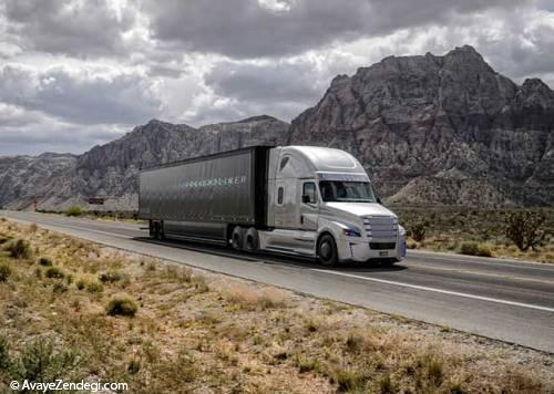 دایملر کامیون بدون راننده تولید کرد